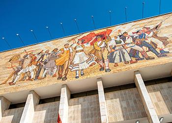 NATIONAL MUSEUM - TIRANA