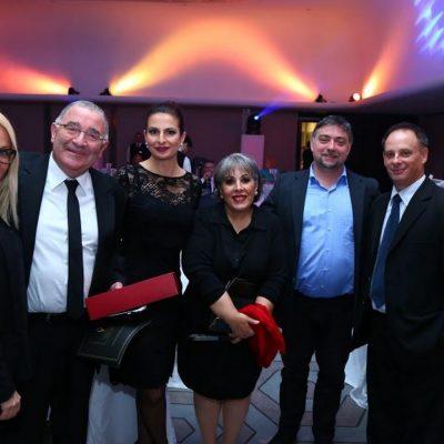 Prize evening in Belgrade, Serbia